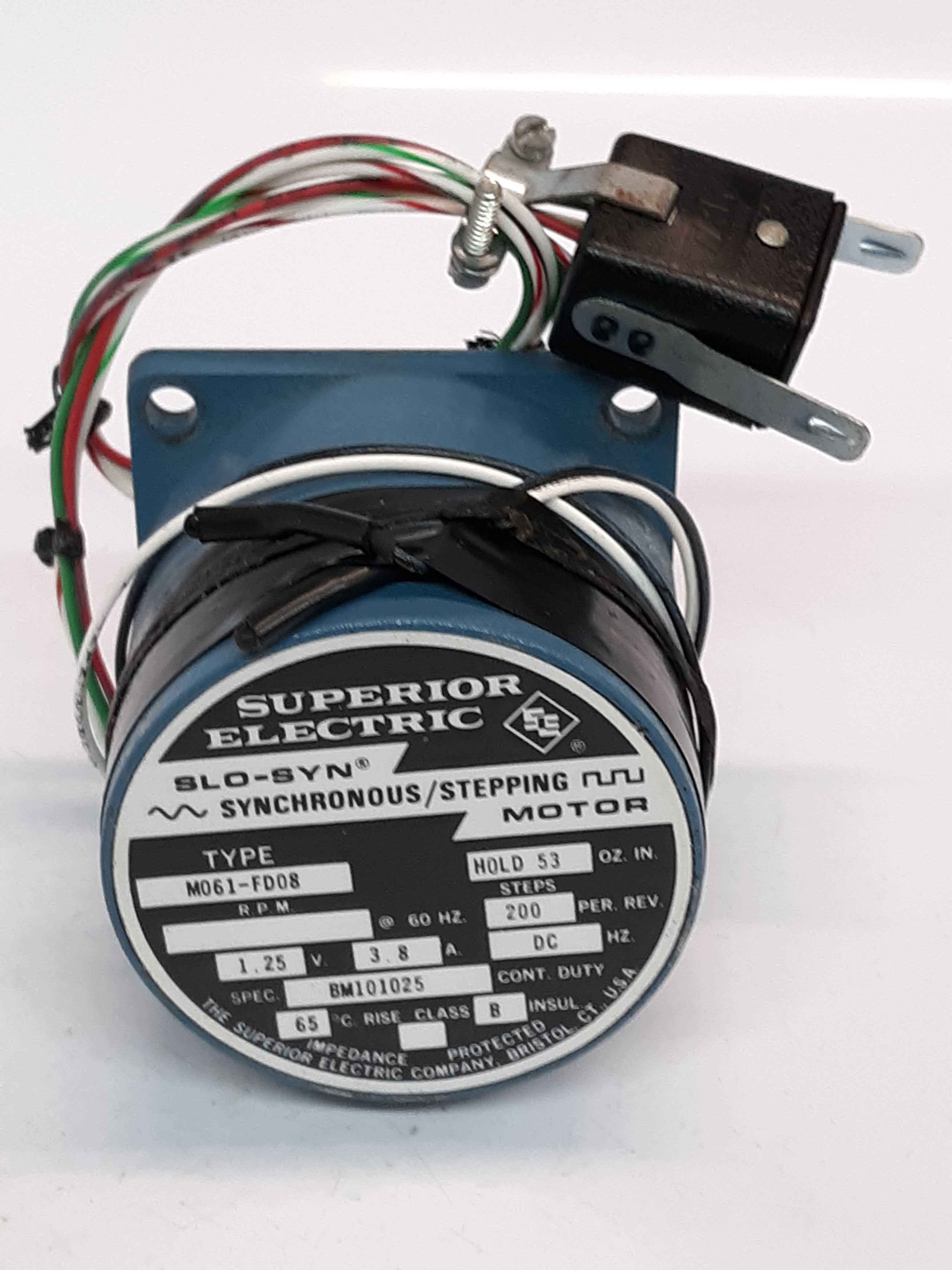Superior Electric M061-FD08 Slo-Syn Synchronous/Stepping Motor
