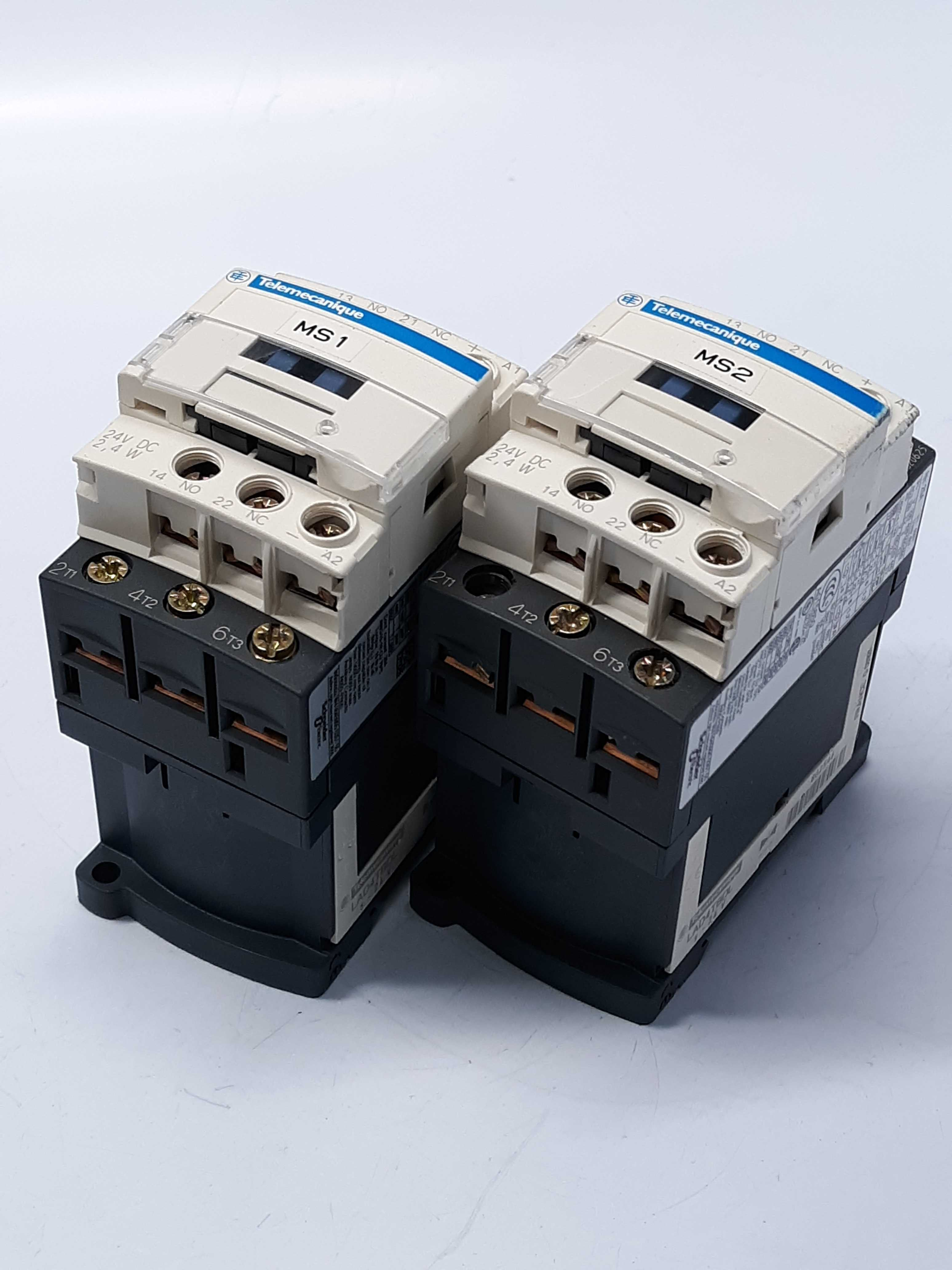 Schneider Electric LAD4TBDL Contactor  Lot of 2