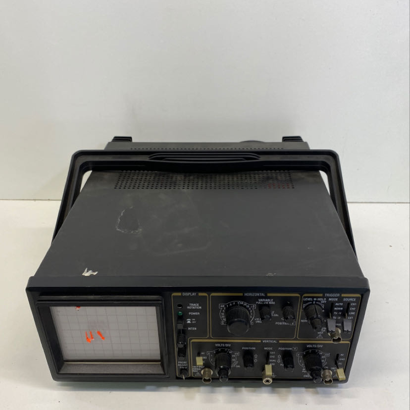 Tenma 72-3055 Test Equipment 20Mhz Oscilloscope 2 Channel Unit