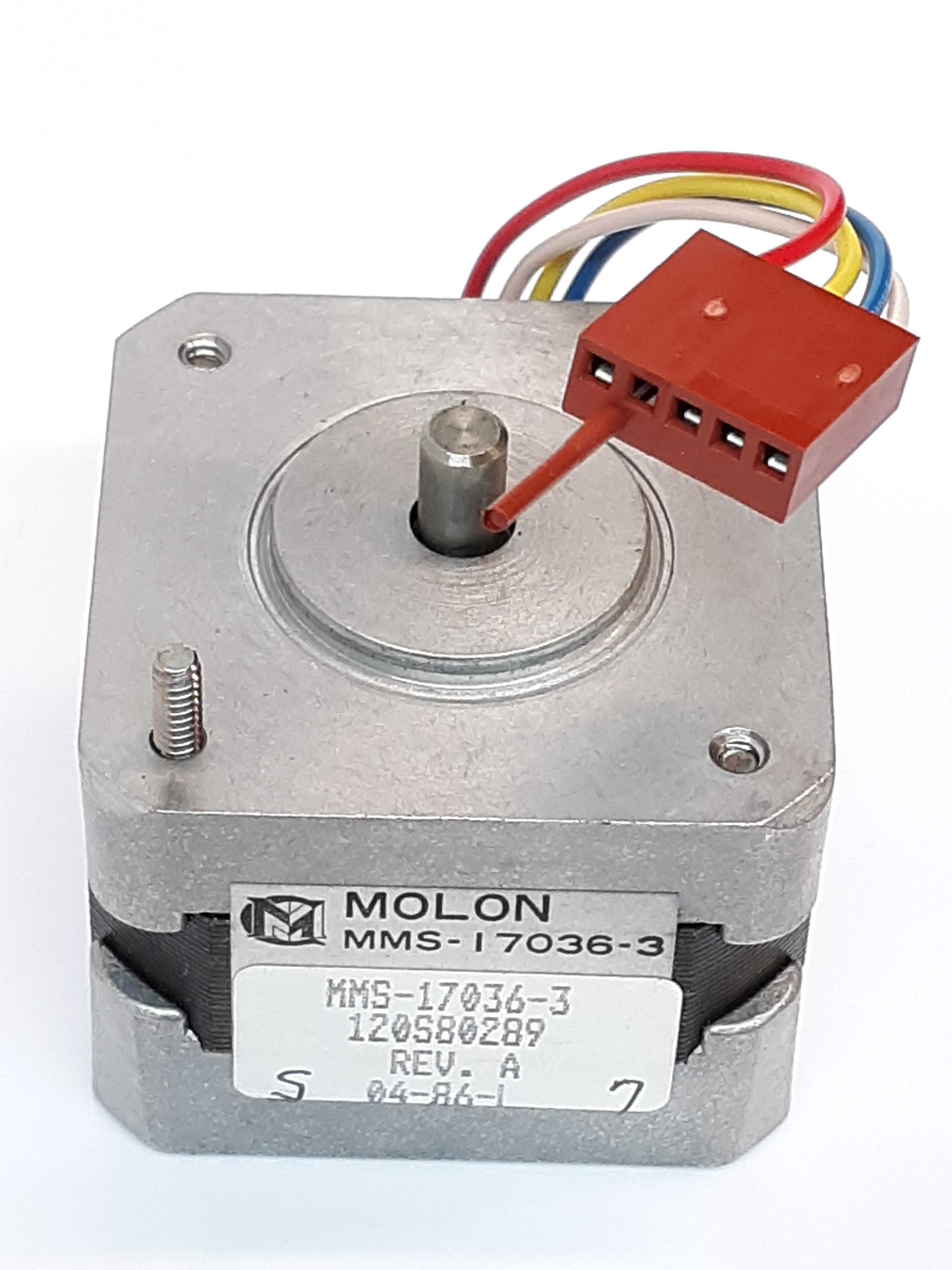 Molon MMS-17036-3 Stepper Motor 4-wire Bipolar High torque-to-inertia ratios