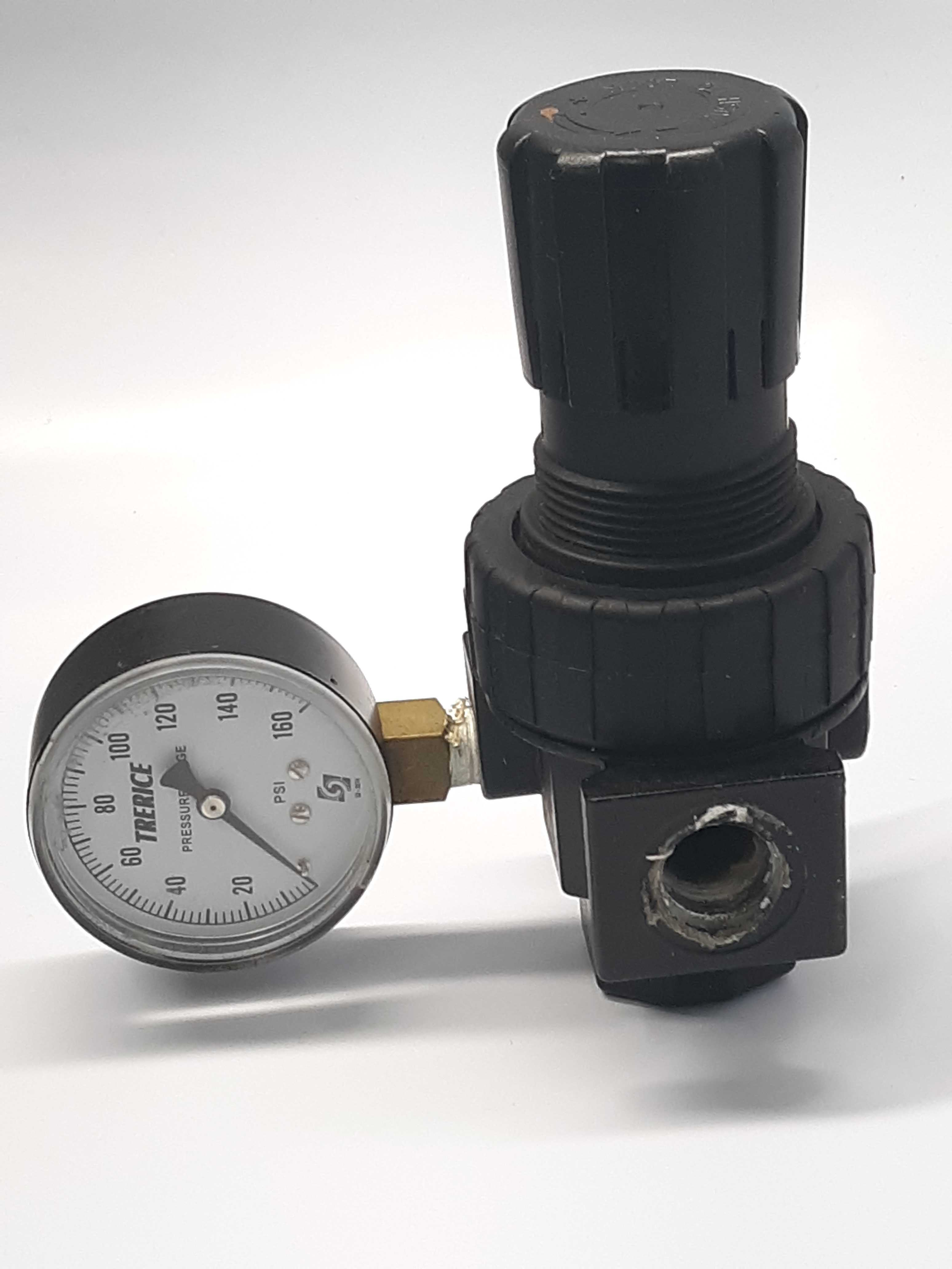 Trerice 07R313AC Pressure Regulator Gauge 0-160 PSI