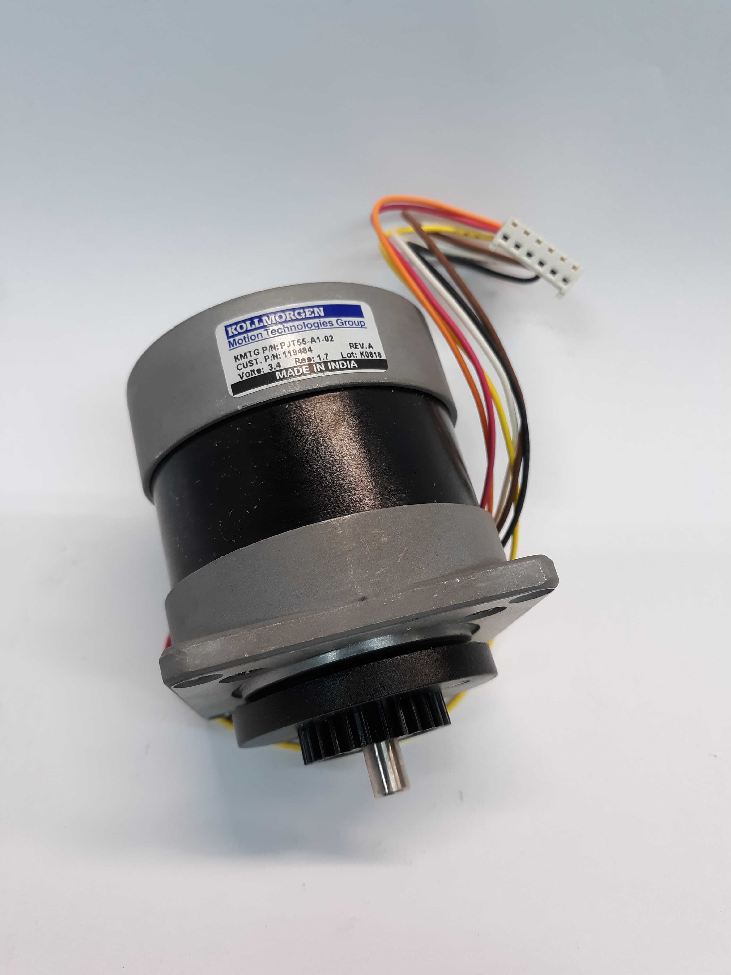 Kollmorgen PJT55-A1-02 Stepper Motor 3.4V Res 1.7 Lot of 2