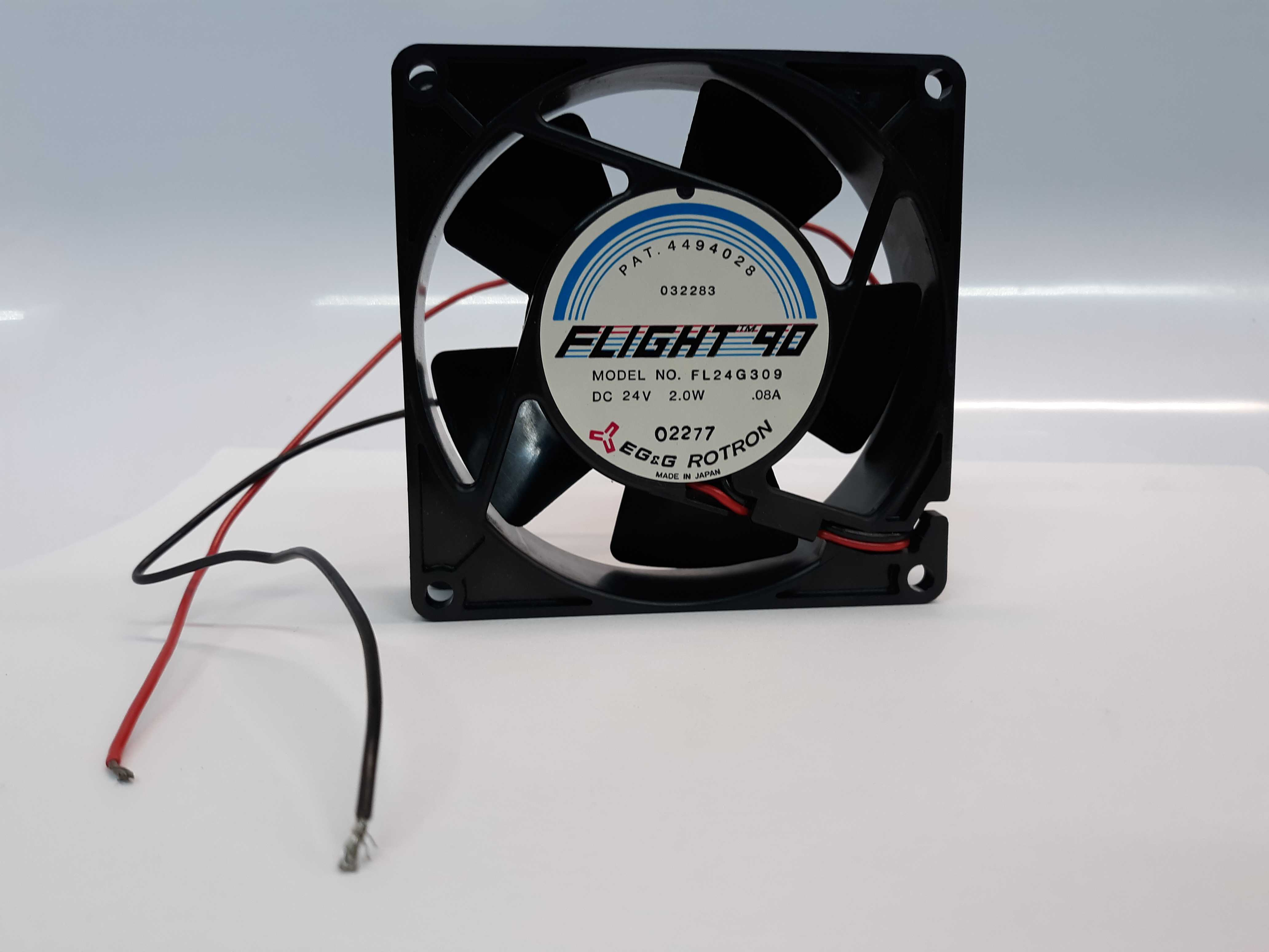 EG&G Rotron Flight 90 FL24G309 Fan 24V Lot of 2