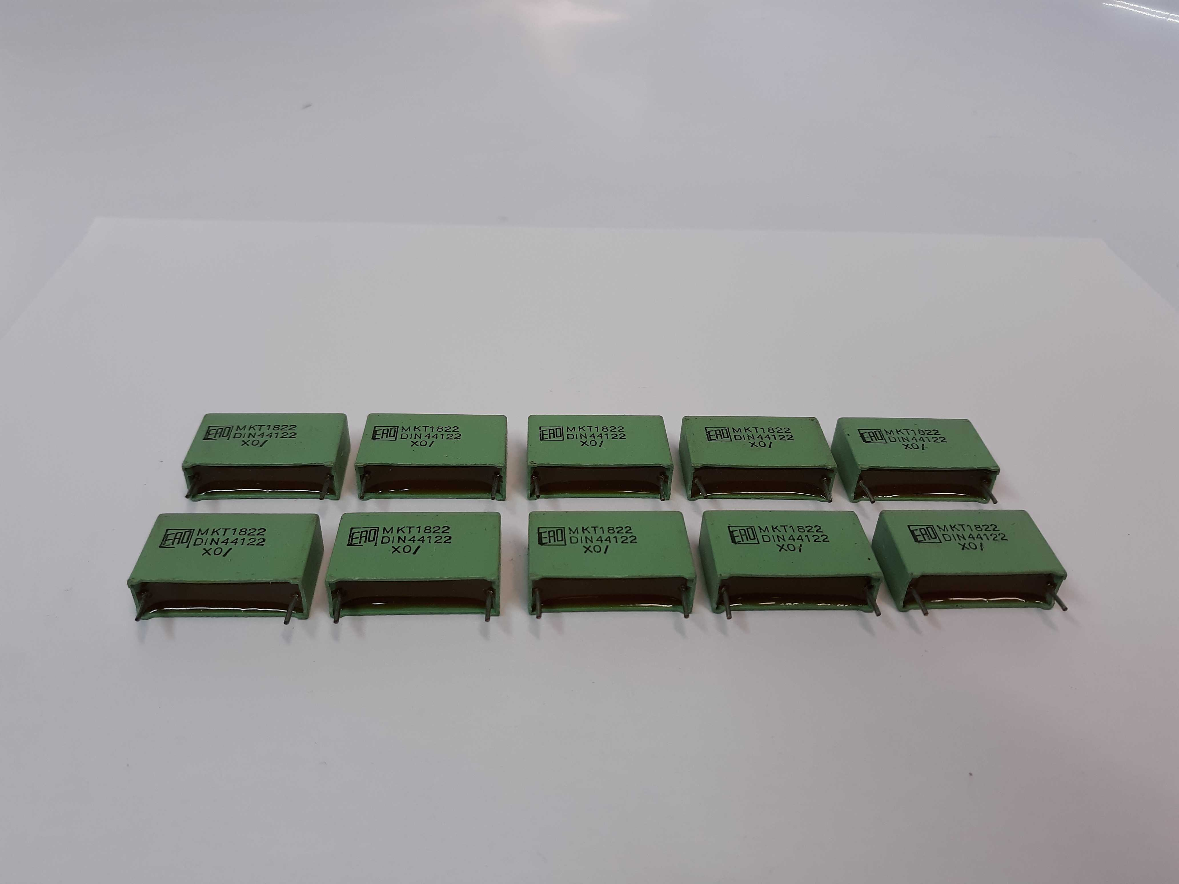 ERO MKT1822 Metallized Polyester Capacitors Lot of 10
