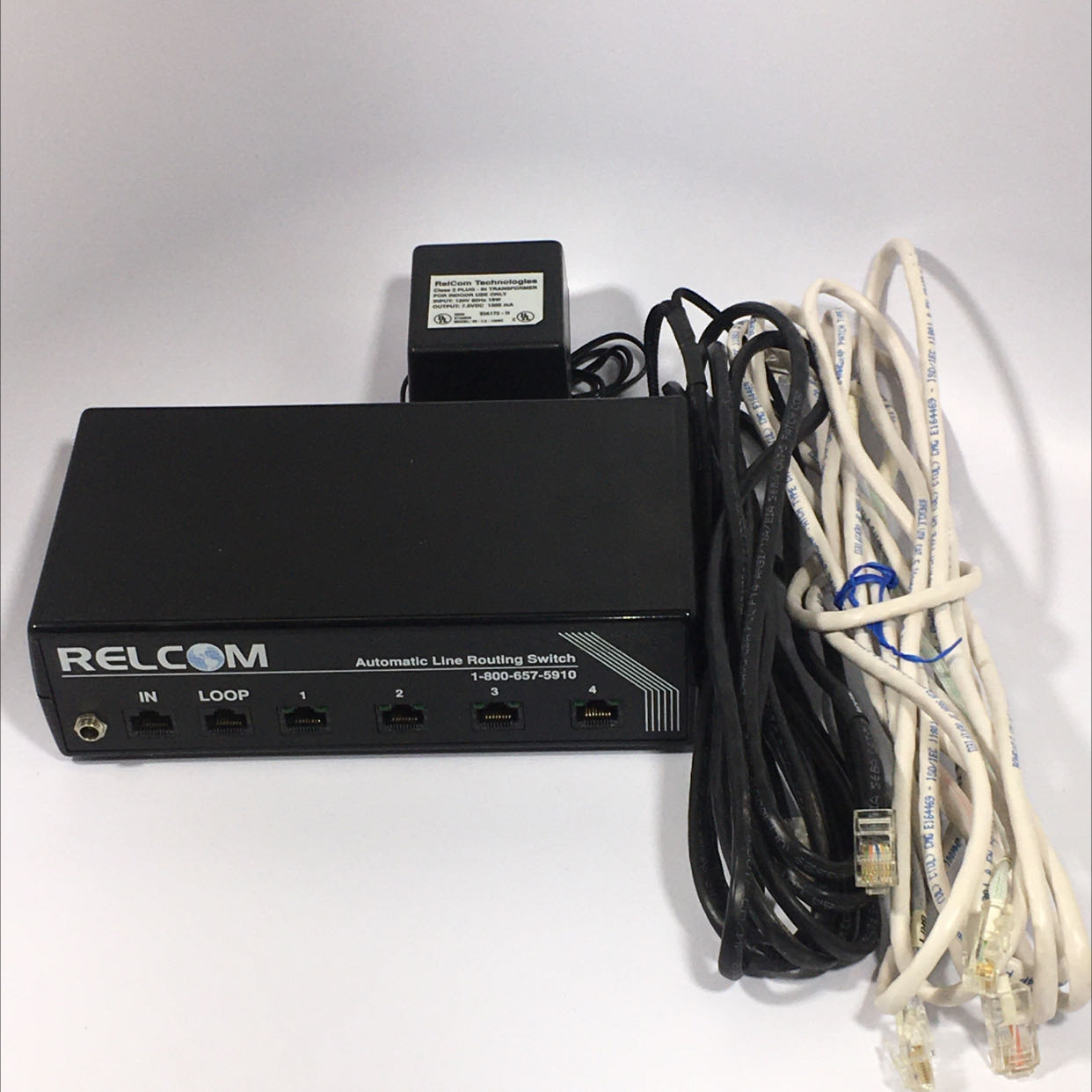 Relcom ALRS-04 Automatic Line Routing Switch