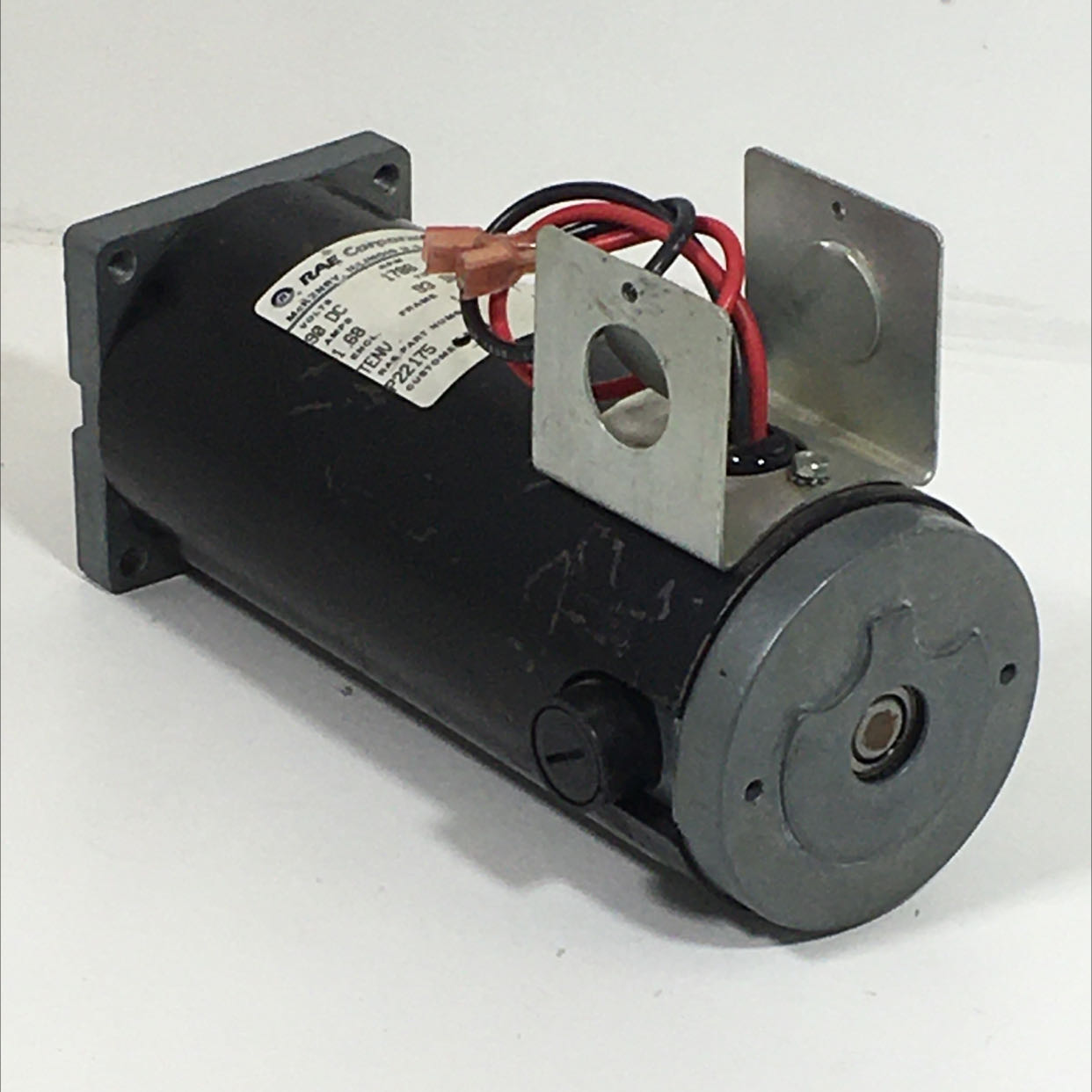 RAE Corporation P22175 DC Motor 90 VDC 1.68 A