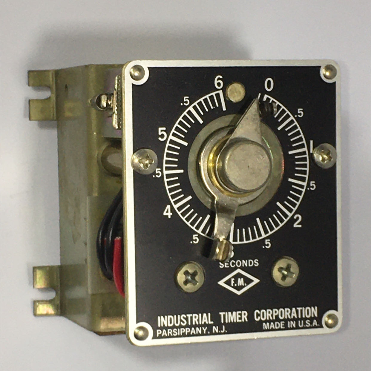 Industrial Timer Corp. CSF-6SEC 115V 60 Cycles 15 Watts