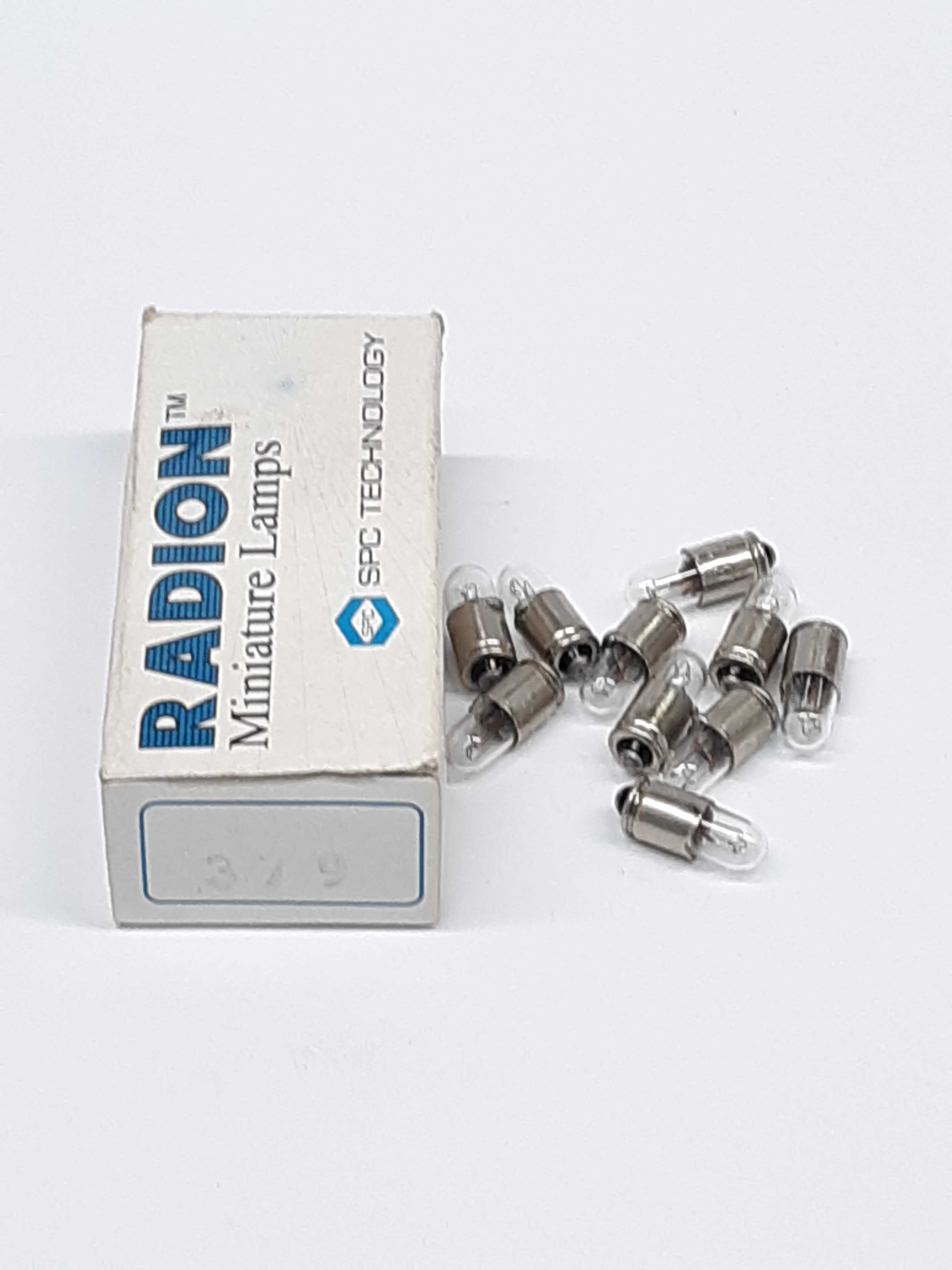 Radion SPC Technology 379 Miniature Lamps Lot of 10