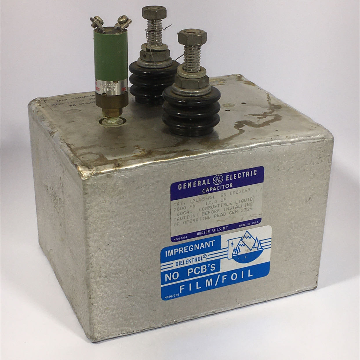 General Electric 17L554RH Capacitor
