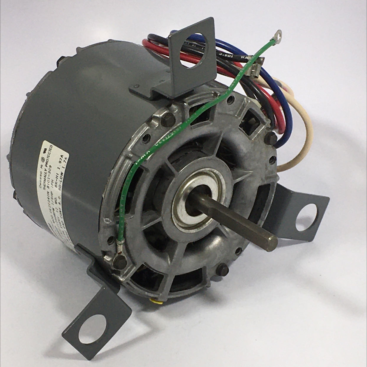Magnetek DE2F040N Universal Electric Motor 115V 60HZ 1500/1250 RPM 1/8HP 1 PH