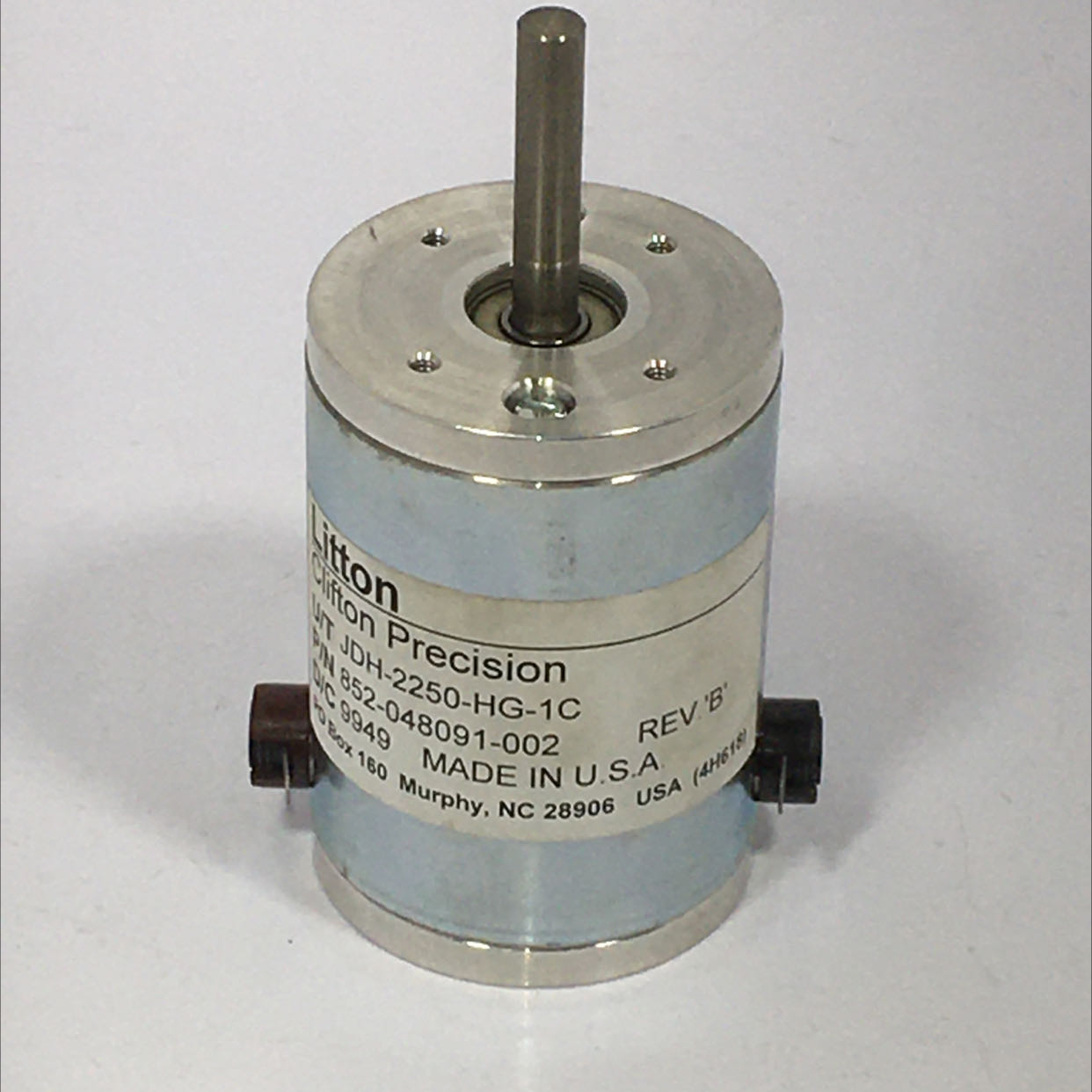 Litton JDH-2250-HG-1C Clifton Precision DC Motor