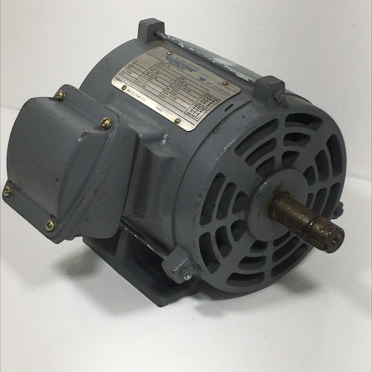 A.O. Smith 0T00152 Electric Motor 1.5 HP 3 Phase 208-230/460