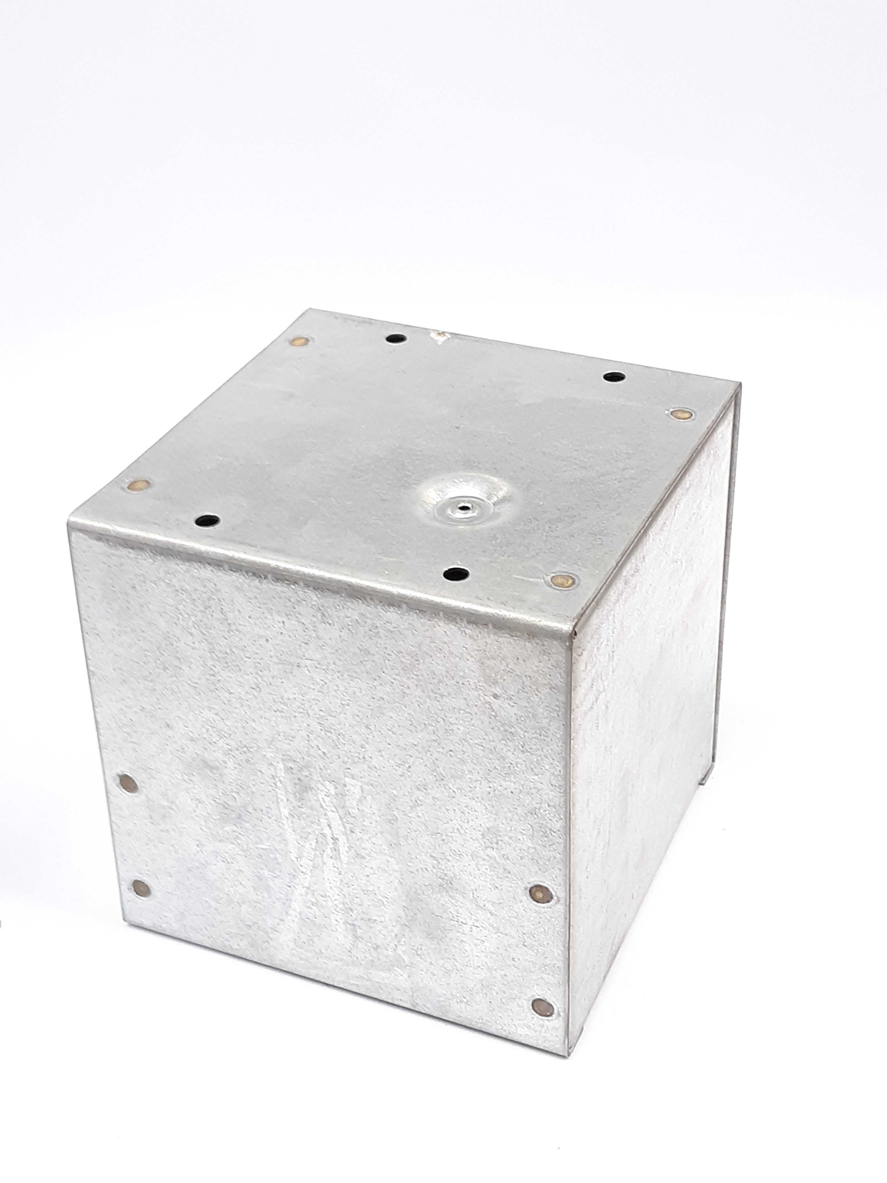 Hoffman ASG6X6X6NK Junction Pull Box, Screw Cover, Galvanized Steel