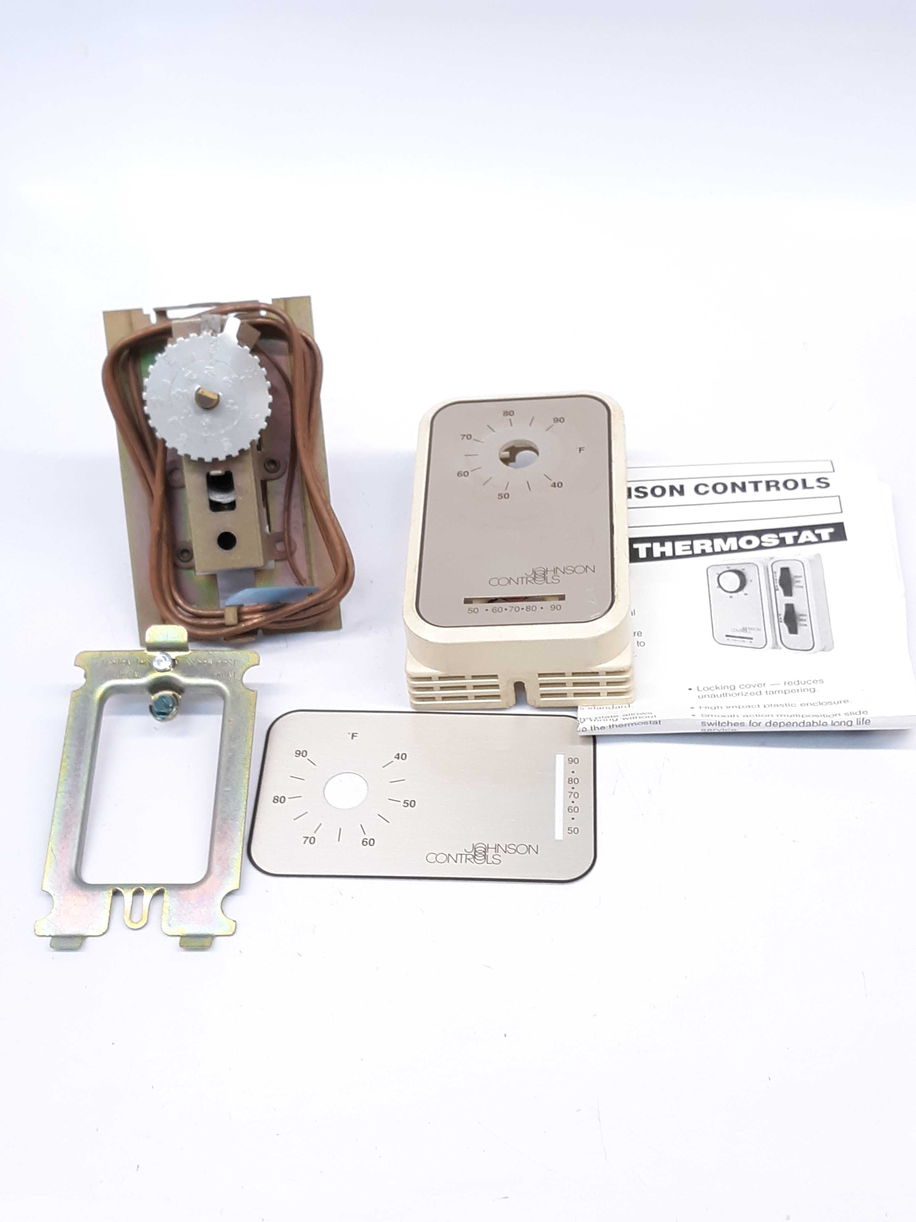 Johnson Controls T265-18C Heating-Cooling Thermostat