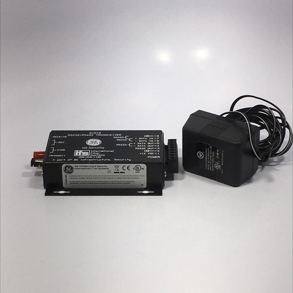 GE RS232/RS422 D1010 Transciever w/ Power Supply