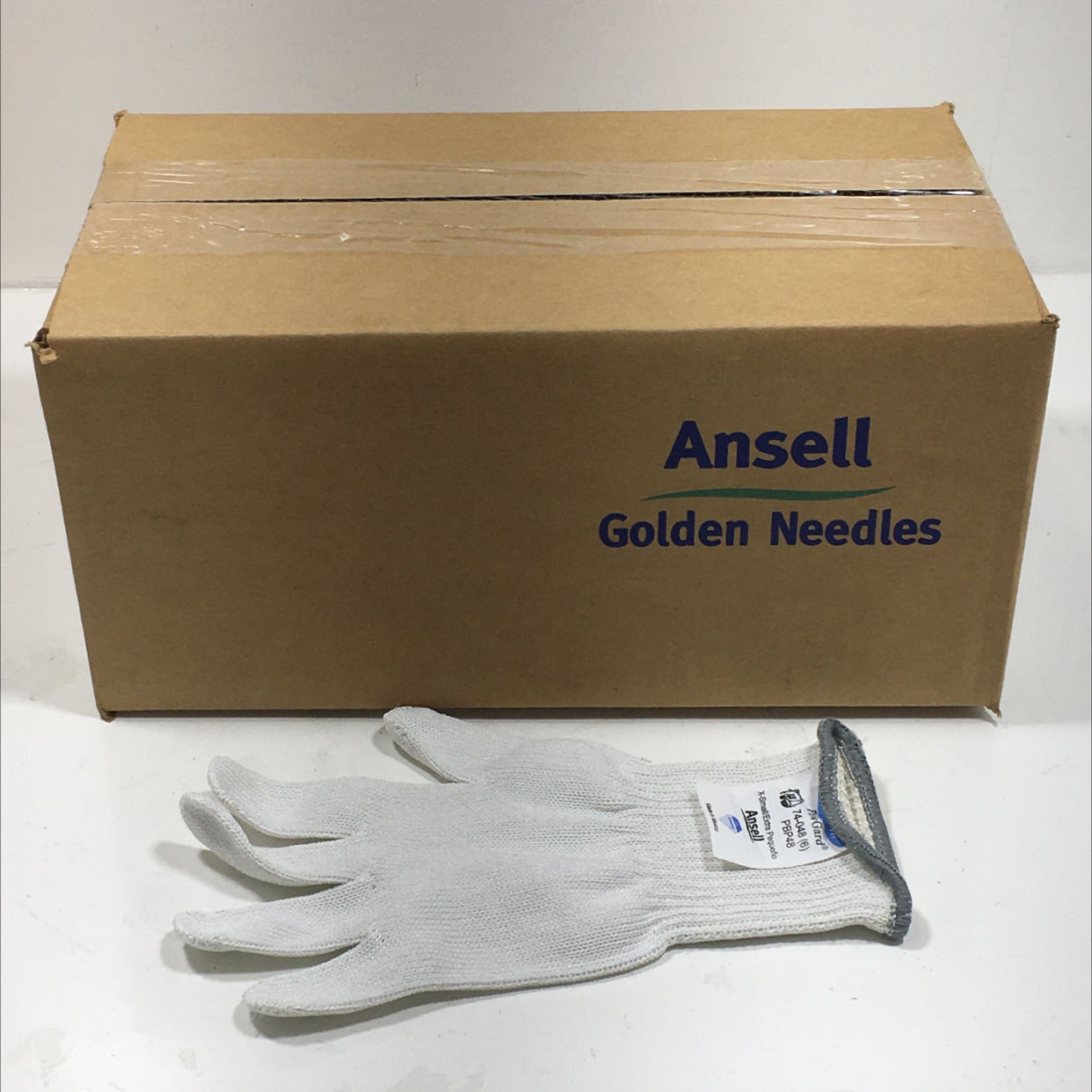 Ansell PB48XS Golden Needles Work Gloves Lot of 12
