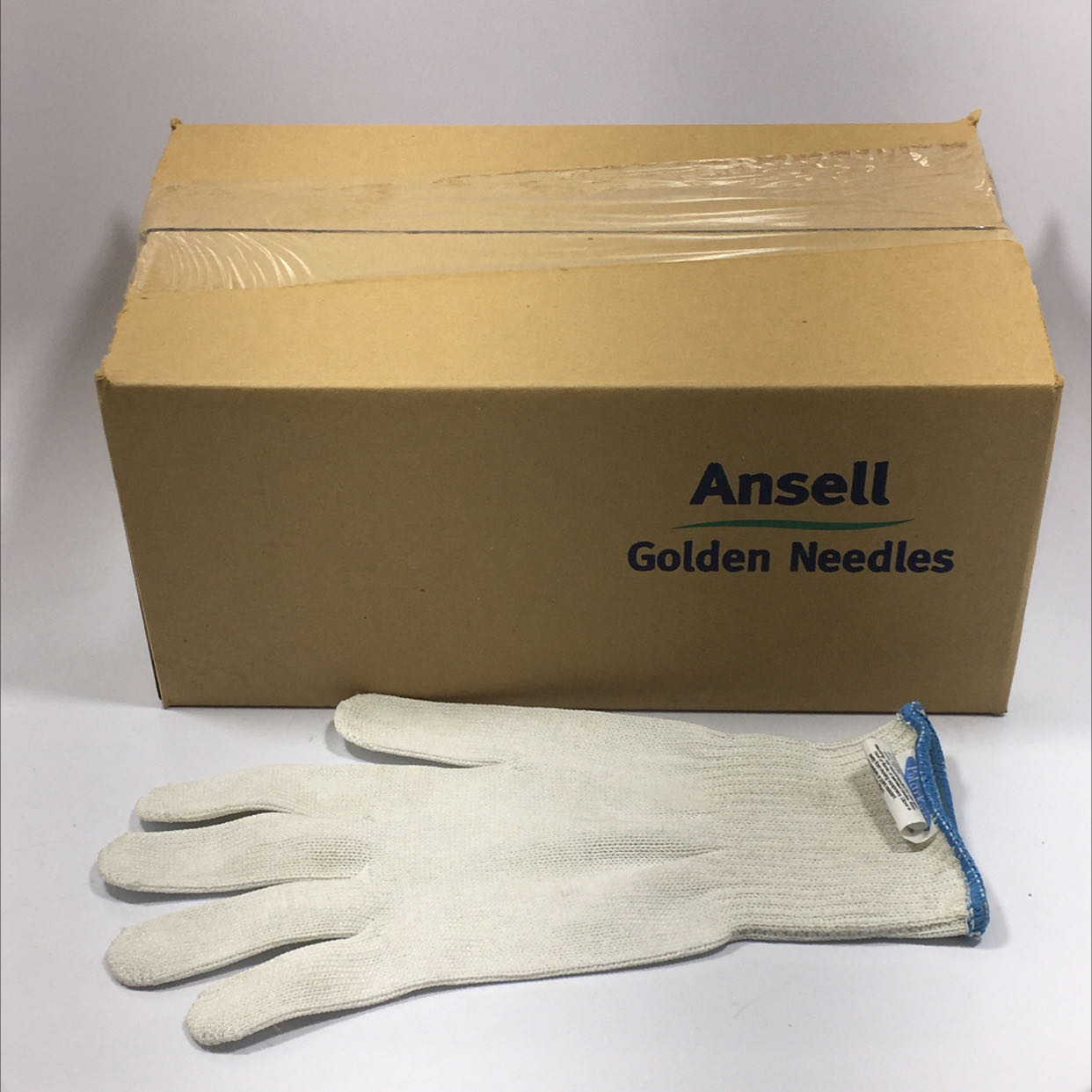 Ansell PBP48L Golden Needles Gloves 245326 Lot of 12