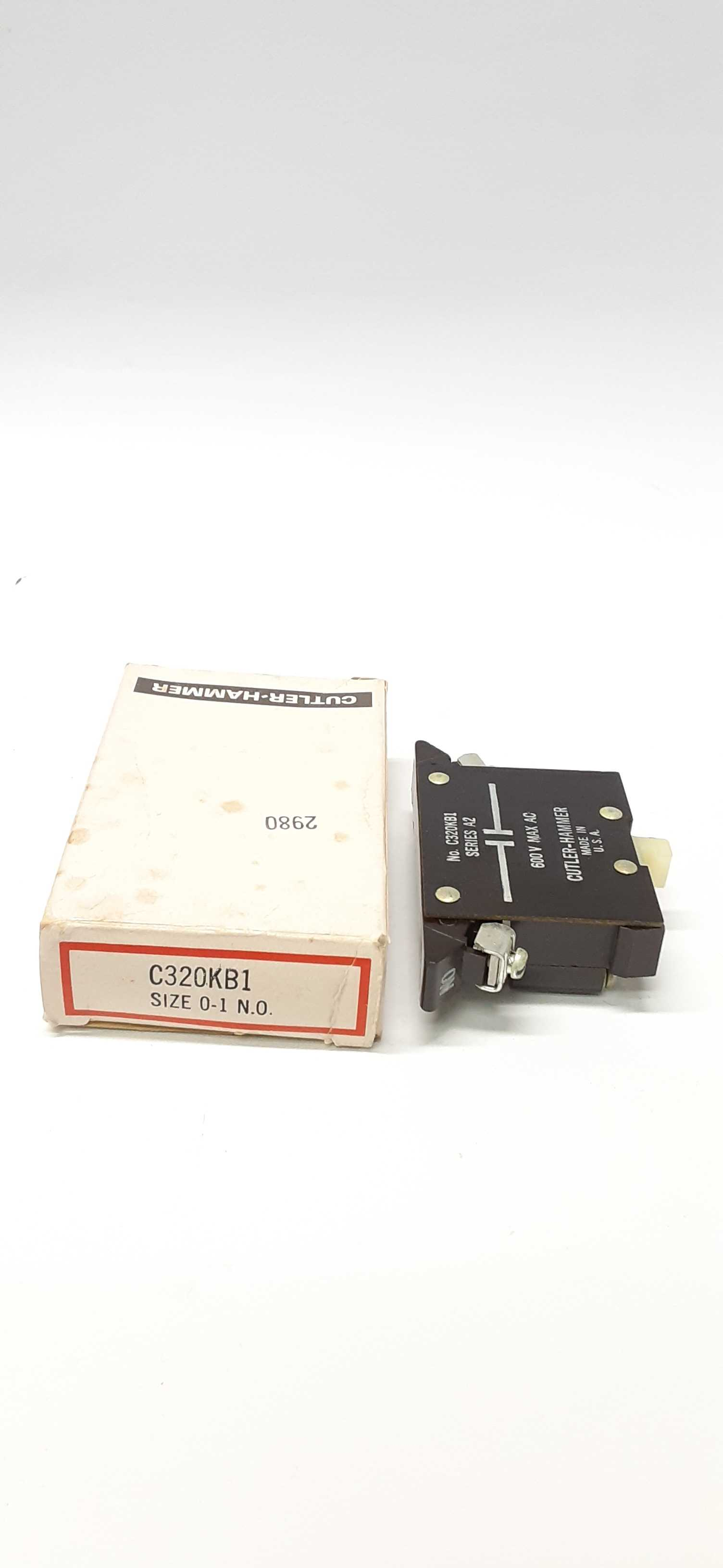 Cutler-Hammer C320KB1 ser.A2 Auxiliary Contact 600V