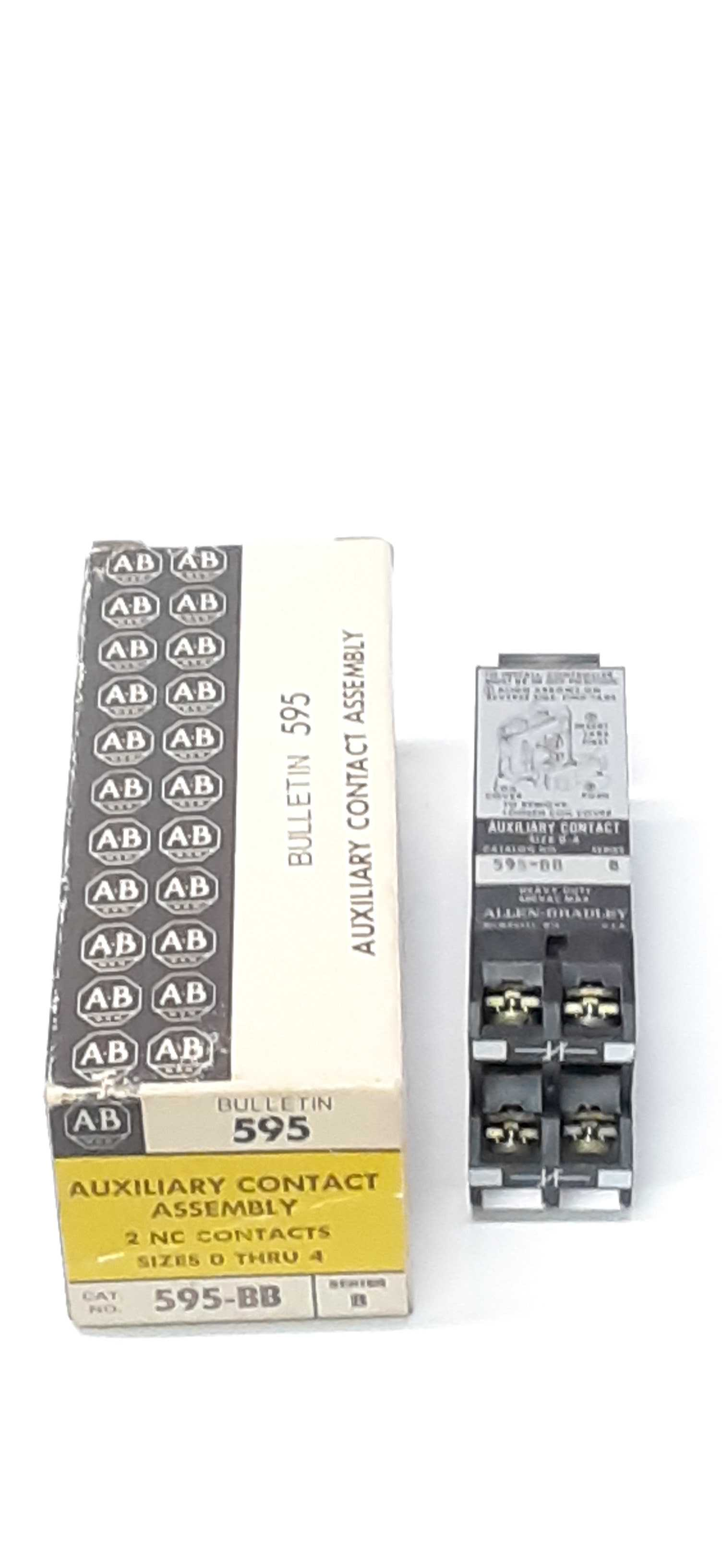 Allen-Bradley 595-BB ser.B Auxiliary Contact
