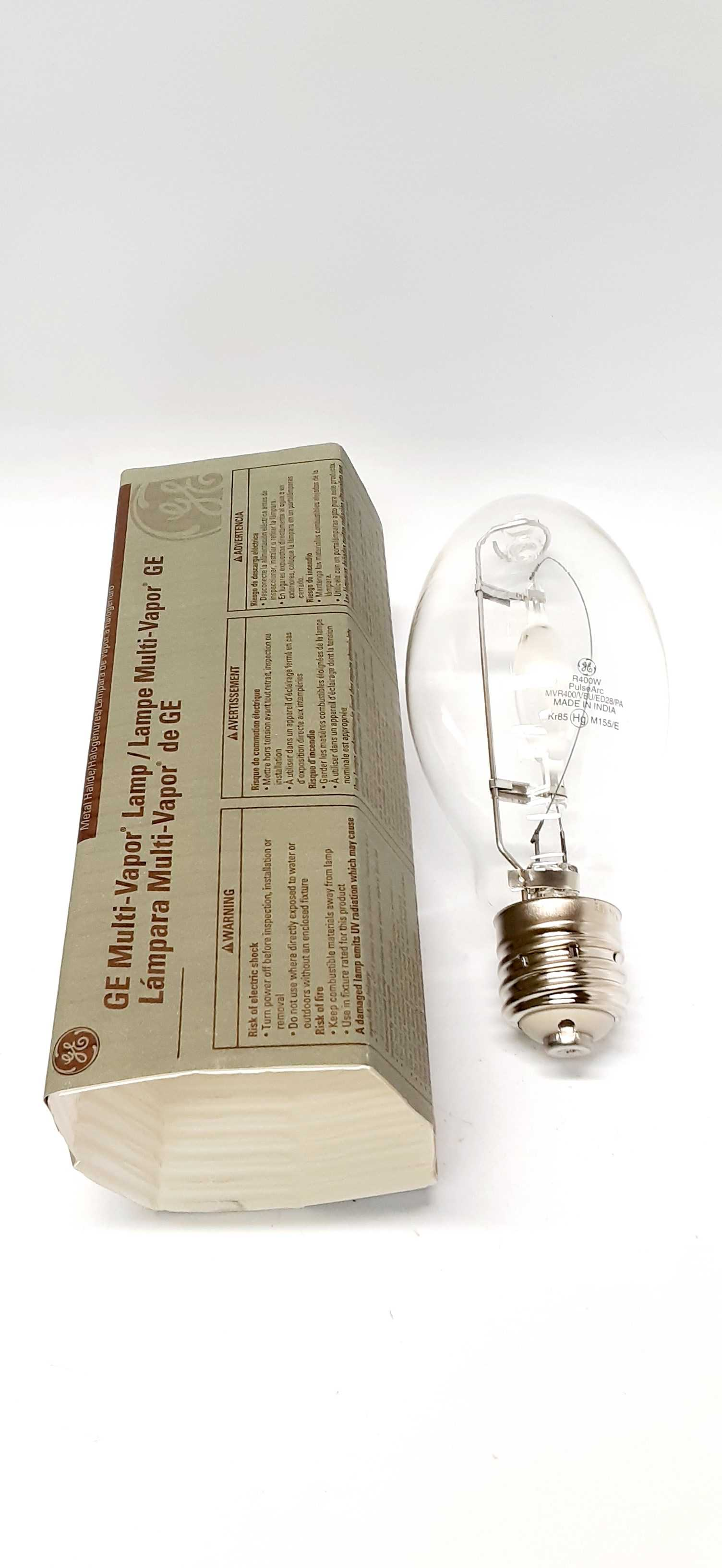 General Electric MVR400/VBU/ED28/PA Multi-Vapor Lamp Bulb 400W