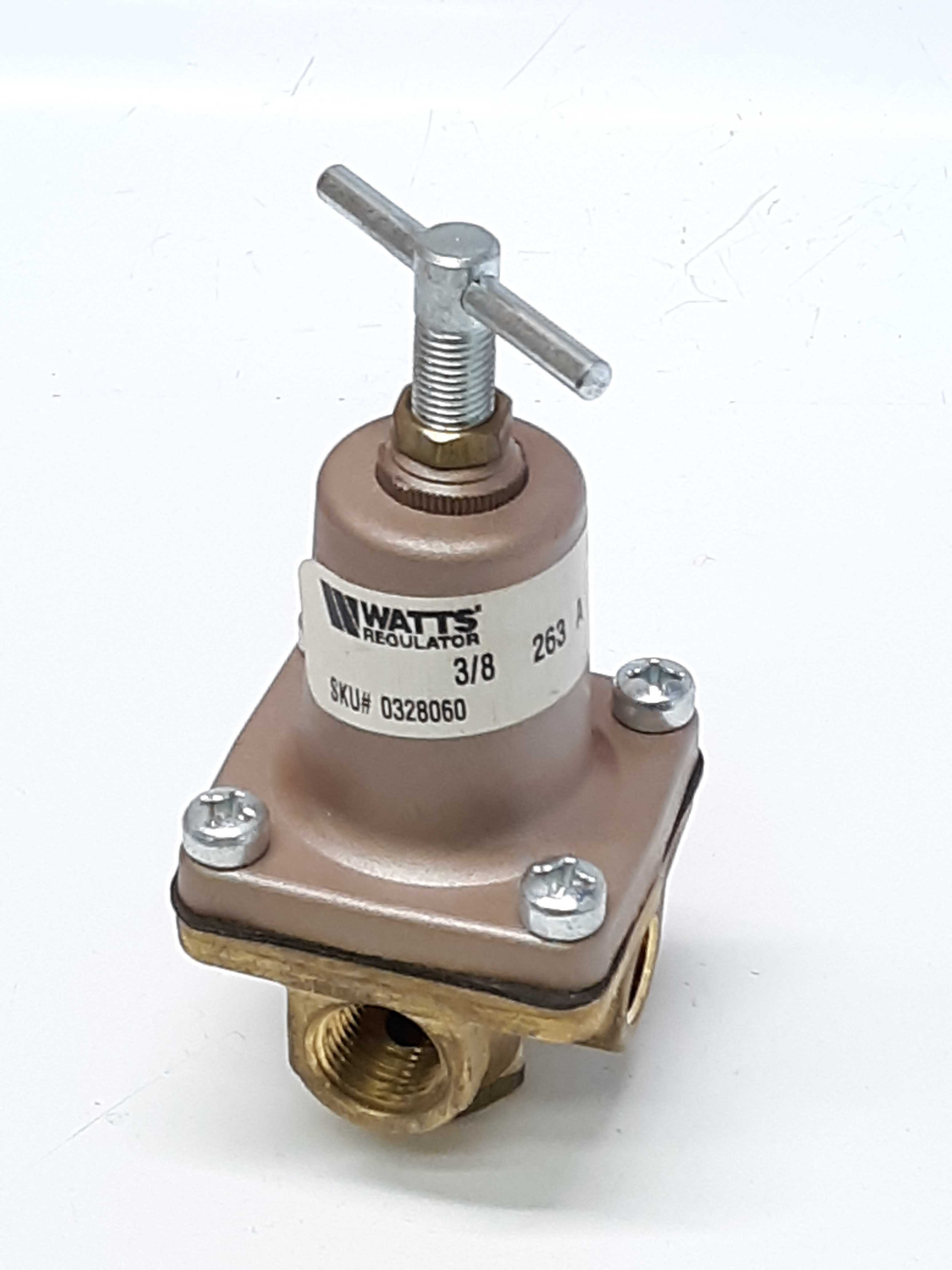 Watts Regulator 263 A 10125 Compact Pressure Regulator 3/8