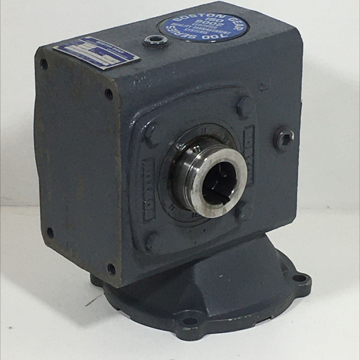 Boston Gear HF72140STB5H3P19 Right Angle Worm Gear Speed Reducer